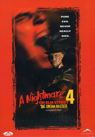 A Nightmare on Elm Street 4 - The Dream Master (Bilingual) (Alliance) DVD Movie