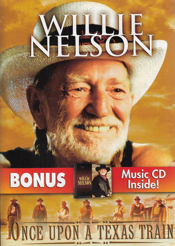 Willie Nelson - Once Upon a Texas Train (Bonus Music CD) DVD Movie