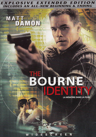 The Bourne Identity (Widescreen Extended Edition) (Bilingual) DVD Movie