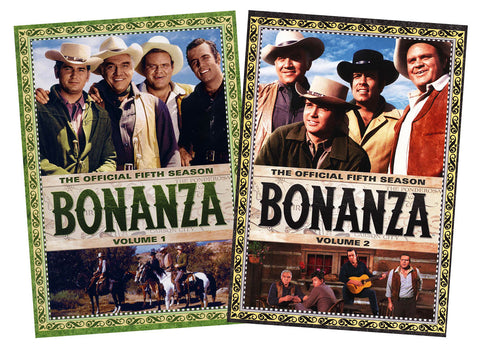Bonanza - the complete Season 5 (Vol. 1 and 2) (2 Pack) (Boxset) DVD Movie