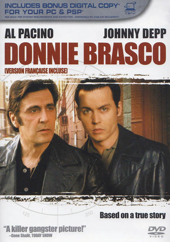 Donnie Brasco - Digital Copy Expired (Bilingual) DVD Movie