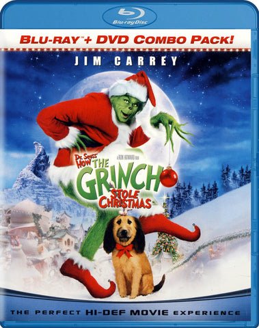Dr. Seuss - How the Grinch Stole Christmas (Blu-ray + DVD) (Blu-ray) BLU-RAY Movie