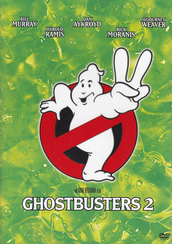 Ghostbusters 2 (Widescreen Edition) (Green Cover) DVD Movie