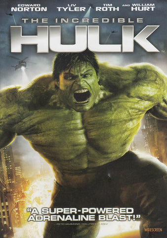 The Incredible Hulk (Widescreen Edition) DVD Movie