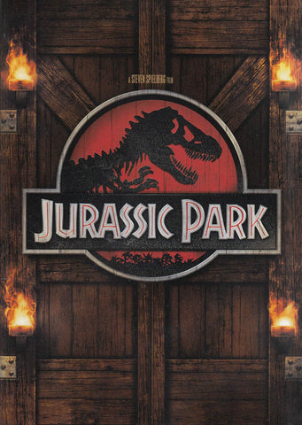 Jurassic Park (Brown Cover) DVD Movie