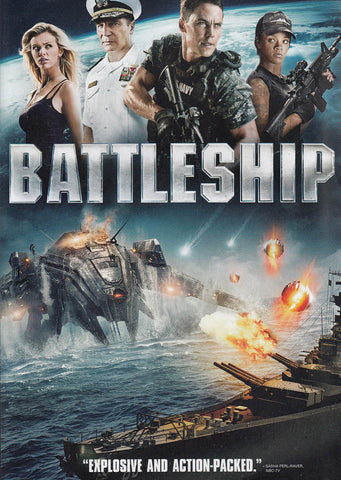 Battleship DVD Movie