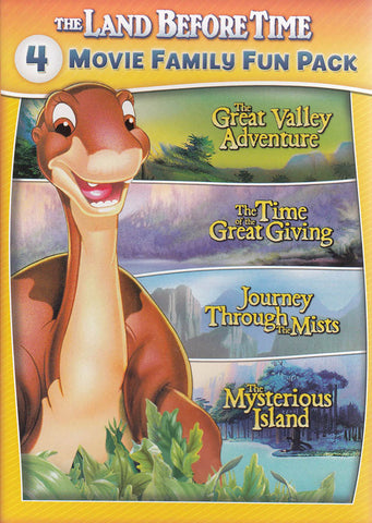 The Land Before Time II to V (4-Movie Family Fun Pack) DVD Movie