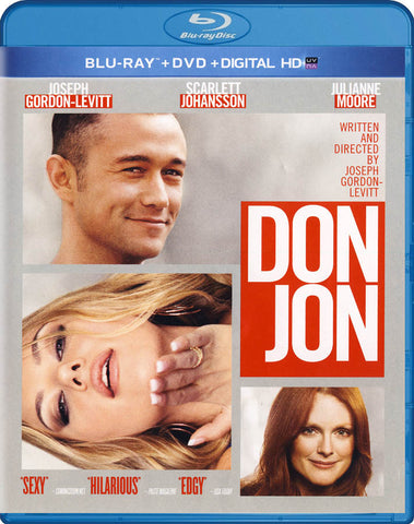 Don Jon (Blu-ray + DVD + Digital HD) (Blu-ray) BLU-RAY Movie