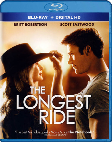 The Longest Ride (Blu-ray + Digital HD) (Blu-ray) BLU-RAY Movie