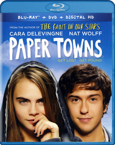 Paper Towns My Paper Journey Edition (Blu-ray + DVD + Digital HD) (Blu-ray) BLU-RAY Movie