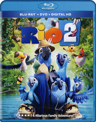 Rio 2 (Blu-ray + DVD + Digital HD) (Blu-ray)