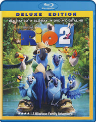 Rio 2 Deluxe Edition (3D Blu-ray + Blu-ray + DVD + Digital HD) (Blu-ray)