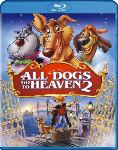 All Dogs Go to Heaven 2 (Blu-ray) BLU-RAY Movie