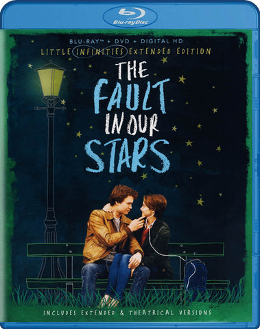The Fault in Our Stars (Little Infinities Extended Edition) (Blu-ray + DVD + Digital HD) (Blu-ray) BLU-RAY Movie