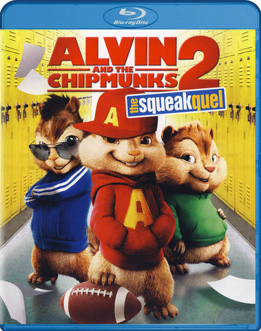 Alvin and the Chipmunks 2 - The Squeakquel (Blu-ray) BLU-RAY Movie