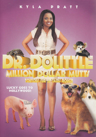 Dr. Dolittle - Million Dollar Mutts (Bilingual) (Purple Cover) DVD Movie