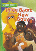 Three Bears and a New Baby - (Sesame Street) (Green Spine) DVD Movie