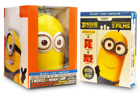 Despicable Me 3 - Movie Collection with Minion Lamp (Blu-ray / DVD / Digital HD) (Bilingual) DVD Movie