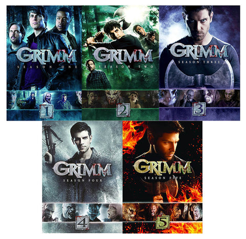 Grimm Complete Seasons 1-5 Collection (Boxset) DVD Movie