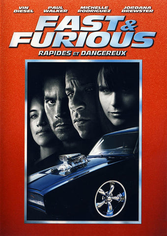Fast And Furious (Bilingual) (Red Cover) DVD Movie