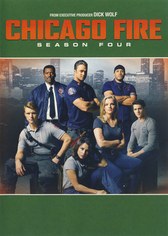 Chicago Fire - Season Four (4) (Keepcase) DVD Movie