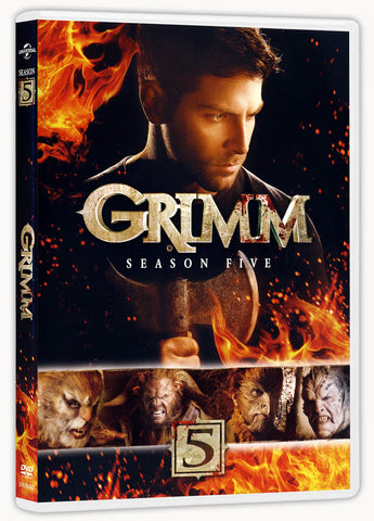 Grimm - Season Five (Boxset) DVD Movie