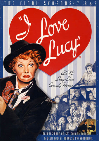 I Love Lucy - The Complete Seasons 7-9 (Boxset) (Blue Cover) DVD Movie