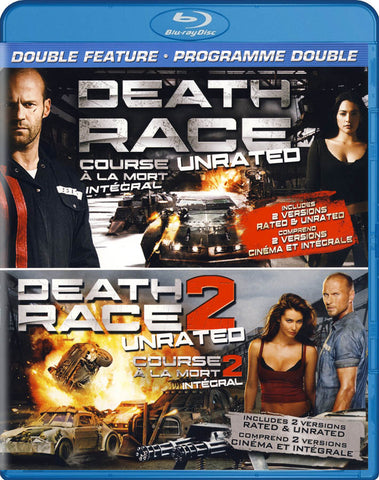 Death Race / Death Race 2 (Unrated Double Feature) (Blu-ray) (Bilingual) BLU-RAY Movie