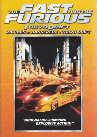The Fast and the Furious - Tokyo Drift (Bilingual) (Orange Spine) DVD Movie