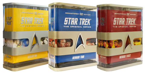 Star Trek - The Original Series (Seasons 1-3) (Remastered Edition) (Boxset) DVD Movie