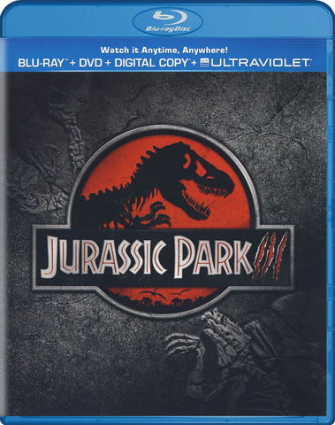 Jurassic Park 3 (Blu-ray + DVD + Digital Copy + UltraViolet) (Blu-ray) BLU-RAY Movie