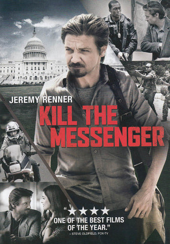 Kill The Messenger (Jeremy Renner) DVD Movie