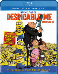 Despicable Me (3D Blu-ray+Blu-ray+DVD) (Bilingual) (Blu-ray)