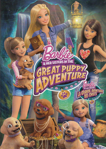 Barbie & Her Sisters In The Great Puppy Adventure (Bilingual) DVD Movie