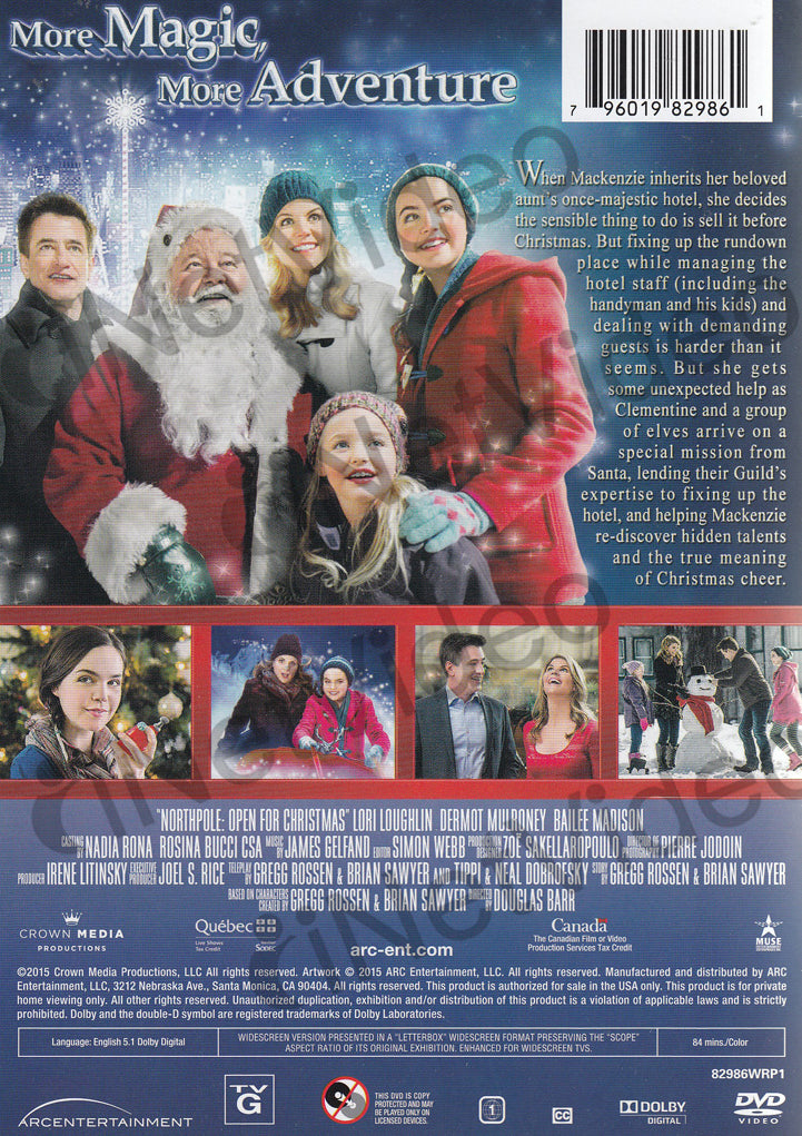 Northpole Open For Christmas.Northpole Open For Christmas On Dvd Movie