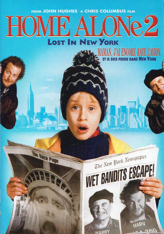Home Alone 2: Lost in New York (Bilingual) (Blue Cover) DVD Movie