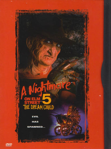 A Nightmare on Elm Street 5 - The Dream Child(Widescreen/Fullscreen) (Snapcase) DVD Movie