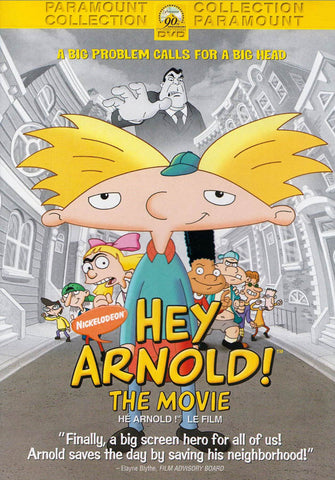 Hey Arnold! The Movie (Fullscreen) (WideScreen) (Bilingual) DVD Movie