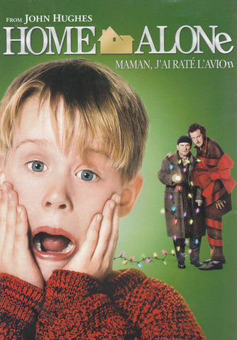 Home Alone (Green Cover) (Bilingual) DVD Movie