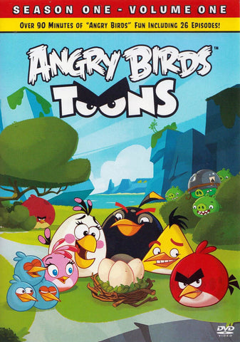 Angry Birds Toons (Season one (1) - Volume 0ne (1)) DVD Movie