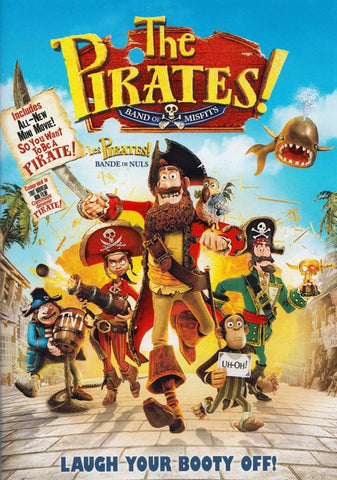 The Pirates! - Band of Misfits DVD Movie
