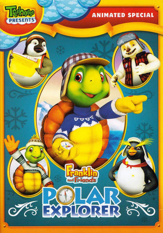 Franklin and Friends Adventure - Polar Explorer (Animated Special) DVD Movie