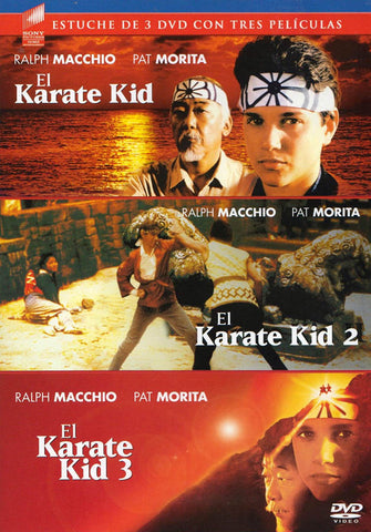 El Karate Kid / El Karate Kid 2 / El Karate Kid 3 (Triple Feature) (Spanish Cover) DVD Movie