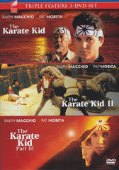 (The Karate Kid, The Karate Kid II, The Karate Kid Part III) (Blue Cover) (Sony Triple Feature)