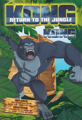 Kong - Return to the Jungle (Bilingual) DVD Movie