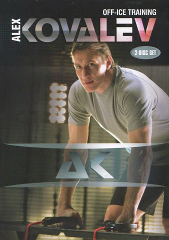 Alex Kovalev - Off-Ice Training (2-disc Set) DVD Movie