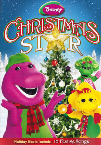 Barney - Christmas Star (HIT) (Includes 10 Festive Songs) DVD Movie