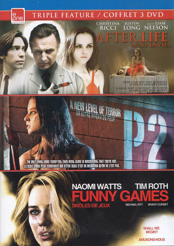 After Life / P2 / Funny Games (e-One Triple Feature) (Bilingual) DVD Movie
