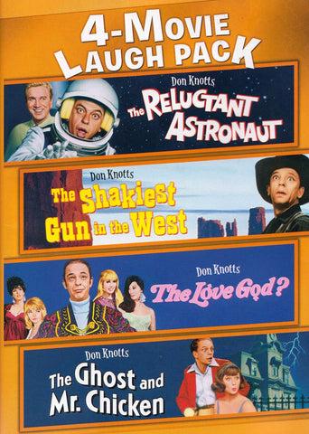 4-Movie Laugh Pack (Don Knotts) DVD Movie