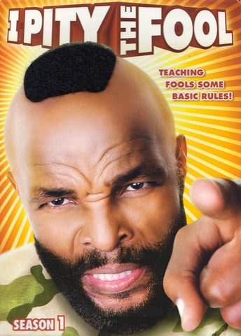 I Pity the Fool - Season 1 (MAPLE) DVD Movie